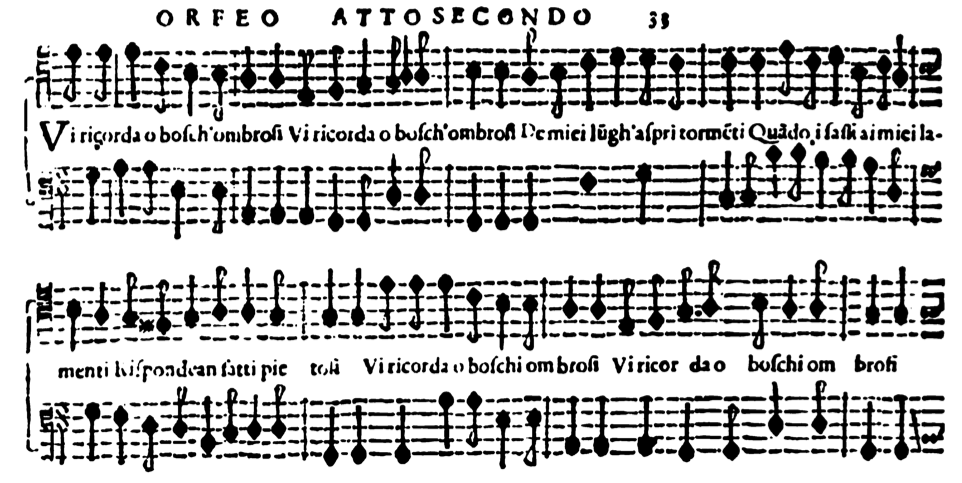 Peri Caccini And Monteverdi Orfeo Drama An Analysis Of The Compositional Techniques Used To Express The Affect Of Anguish