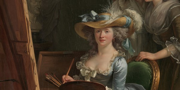 Adélaïde Labille-Guiard, Self-Portrait with Two Pupils, Marie Gabrielle Capet (1761–1818) and Marie Marguerite Carreaux de Rosemond (died 1788)